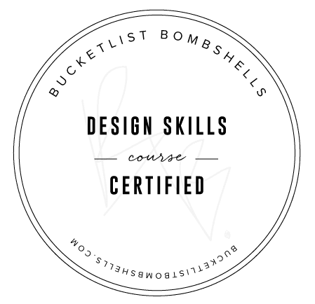 Bucketlist Bombshells Design Skills Badge