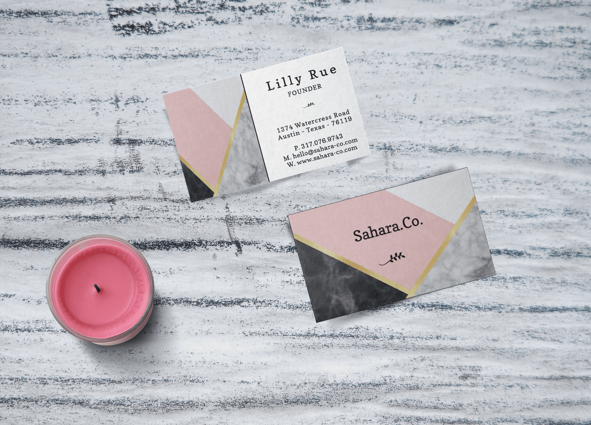 Business Card Concept & MockUp