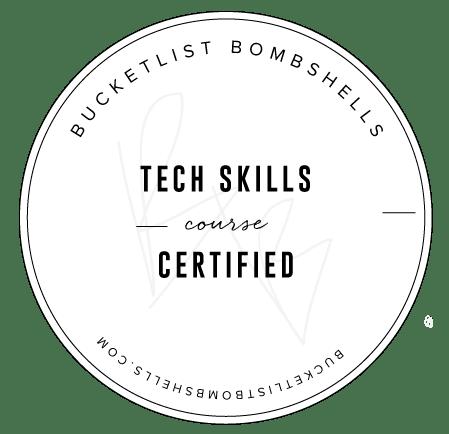 Bucketlist Bombshells Tech Skills Badge