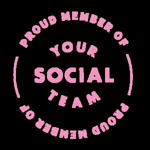 Your Social Team Membership Badge